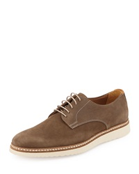 Modern Vintage Achilles Leather Oxford Khaki