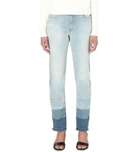Diesel Reen 0852X Regular Fit Mid Rise Jeans 01 Blue Denim