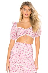 Majorelle Carly Top Pink