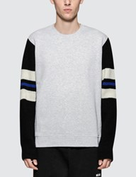 Msgm Sweatshirt With Stripe