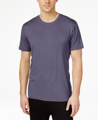 32 Degrees By Weatherproof Crew Neck T Shirt Purple Heather