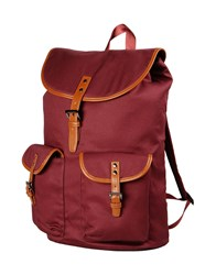 Edward Spiers Bags Rucksacks And Bumbags Men Maroon