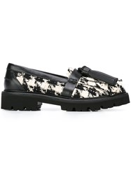 Msgm Tassel Loafers Black