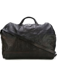 Numero 10 Croc Effect Holdall Bag Black