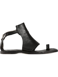 Officine Creative Ankle Length Flat Sandals
