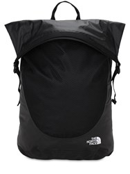 The North Face Waterproof Rolltop Backpack Black