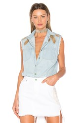 Sandrine Rose Sleeveless Sequin Button Up Marble