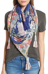 Johnny Was Women's Morning Square Silk Scarf