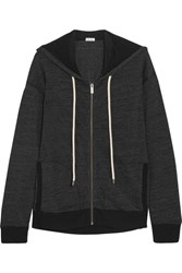 Splendid Tahoe Jersey Hooded Top Black