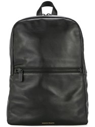 Common Projects Top Zip Classic Backpack Black