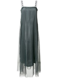 I'm Isola Marras Flared Maxi Dress Grey