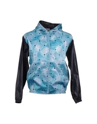 I.O.S. Industry Of Style Jackets Turquoise