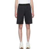Givenchy Black Logo Tape Shorts