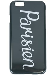Maison Kitsune 'Parisien' Iphone 6 Cover Case Black