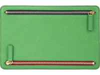 Smythson Men's Panama Currency Case Green