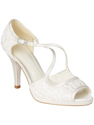Phase Eight Ruby Lace Shoes Ivory