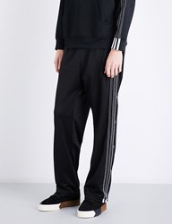 Adidas X Alexander Wang 3 Stripes Jacquard Jogging Bottoms Black