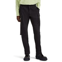 Alyx Cotton Blend Fleece Utility Jogger Pants Black