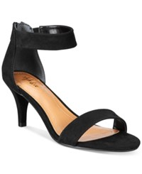 Styleandco. Style Co. Paycee Two Piece Dress Sandals Only At Macy's Women's Shoes Black