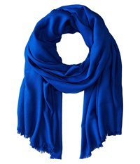 Love Quotes Rayon Eyelash Scarf Sapphire Scarves Blue