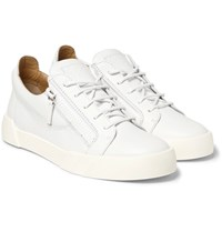 Giuseppe Zanotti Leather Sneakers White