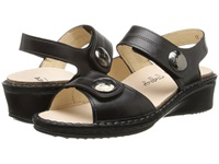Finn Comfort Alanya Black Women's Sling Back Shoes