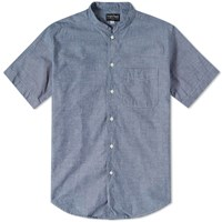 Rough And Tumble Short Sleeve Studio Shirt Blue
