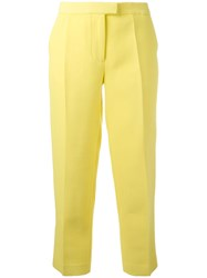 3.1 Phillip Lim Tailored Cropped Trousers Yellow Orange