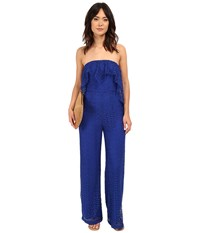 Free People Lemoncello Romper Cobalt Women's Jumpsuit And Rompers One Piece Blue