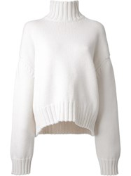 Studio Nicholson Loose Fit Jumper White