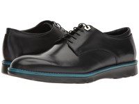 Z Zegna Hybrid Smooth Calf Derby Black 1 Men's Shoes