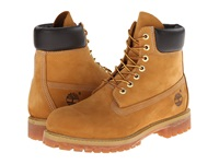 Timberland Classic 6 Premium Boot Wheat Nubuck Leather Men's Lace Up Boots Tan