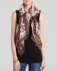 Fraas Love Square Scarf Taupe