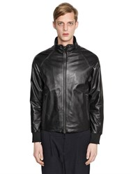 Emporio Armani Nappa Leather Jacket