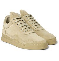 Filling Pieces Ghost Suede Sneakers Sand