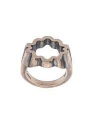 M Cohen M. The Equinox Ring Silver