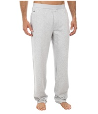 Lacoste Pique Lounge Pants Pique Light Grey Melange Men's Pajama Gray