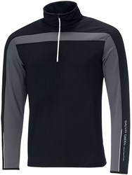 Galvin Green Men's Dino Insula Half Zip Jumper Black
