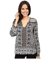 Hale Bob A Common Thread Top Taupe Women's Clothing