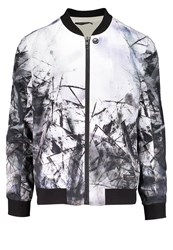 Religion Inertia Bomber Jacket White Black