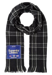Superdry Capital Scarf Vintage Black