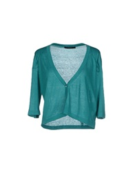 Weekend Max Mara Cardigans Emerald Green