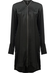 Ilaria Nistri Zip Up Dress Black