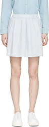 Won Hundred Pastel Blue Tati Short Skirt