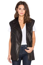Current Elliott The Moto Infinity Vest Black