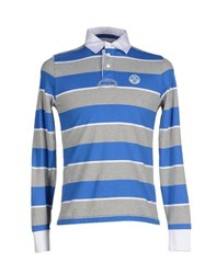 North Sails Topwear Polo Shirts Men Blue
