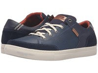 Skechers Relaxed Fit Elvino Lemen Navy Leather Men's Lace Up Casual Shoes Blue