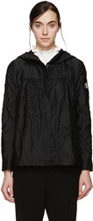 Moncler Gamme Rouge Black Lily Of The Valley Jacket