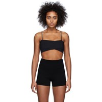 Live The Process Black Orion Sports Bra