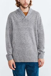 Pendleton Pullover Shawl Collar Sweater Grey